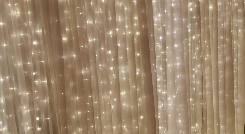 Fairy Light Back Drop