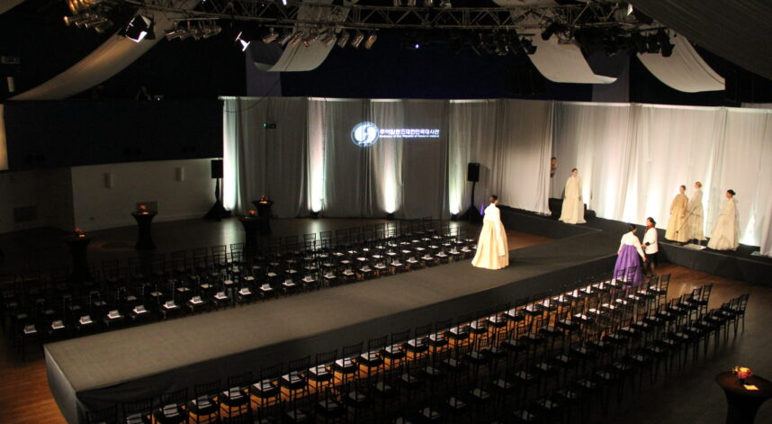 Fashion Show - Drapes, Lighting & Stage