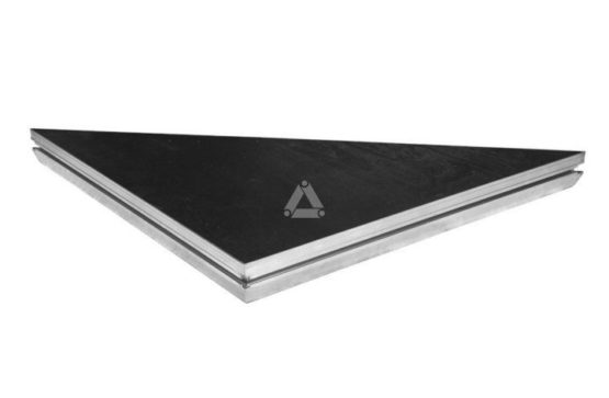 Triangle 1m x 1m Deck